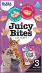 Inaba Juicy Bites Moist Cat Treats - Shrimp and Seafood Mix