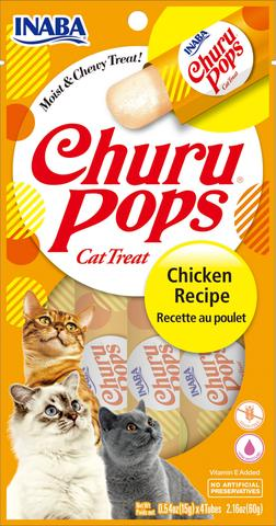 Inaba Churu Pops Moist and Chewy Cat Treats - Chicken