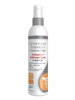 Veterinary Formula Clinical Care - Antiseptic & Antifungal Medicated Spray for Dogs & Cats