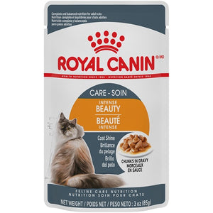 Royal Canin Cat Food (Wet) - Intense Beauty - Chunks in Gravy
