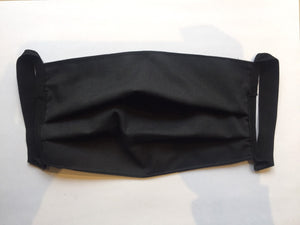 Handmade Cotton Hygienic Mask Pleated Surgical Style