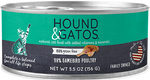 Hounds & Gatos Natural Cat Food (Wet) - 98% Gamebird Poultry Recipe
