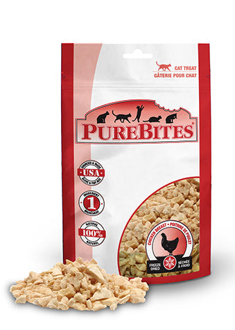 Purebites Freeze Dried Cat Treats - Chicken Breast