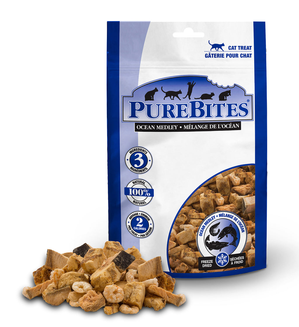 Purebites Freeze Dried Cat Treats - Ocean Medley