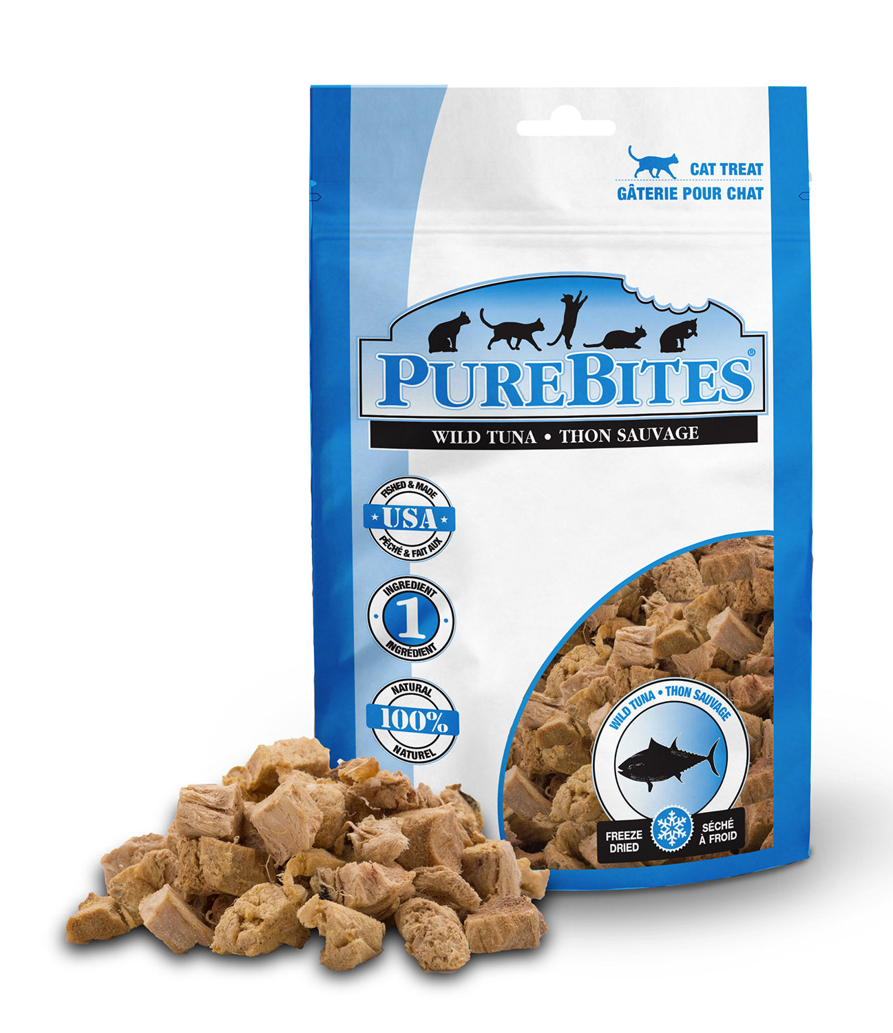 Purebites Freeze Dried Cat Treats - Tuna