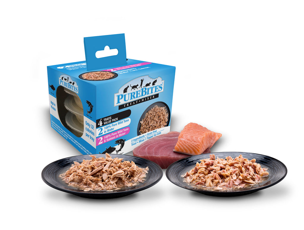 Purebite Cat Mixers VARIETY PACK - Tuna & Salmon