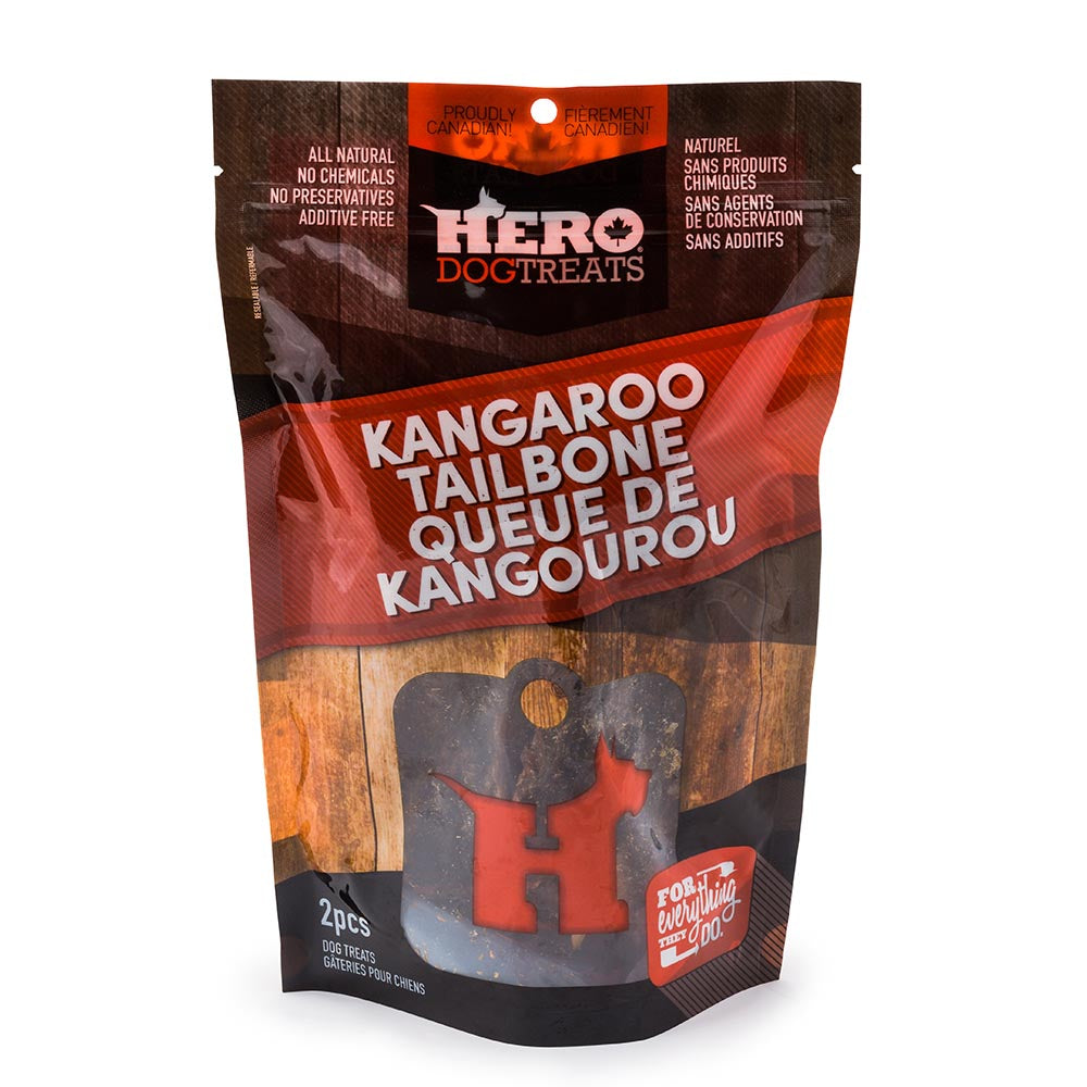 Hero Dog Treats - Kangaroo Tailbone