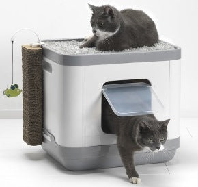 Moderna CatConcept All-in-One Litter Box, Scratcher and Cat Perch
