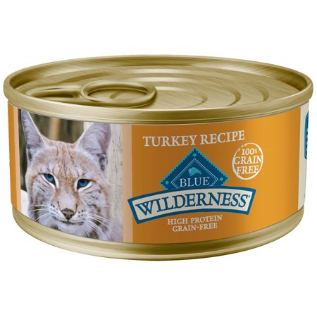 Blue Wilderness Grain Free Cat Food (Wet) - Turkey