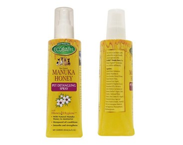 EcoBath Manuka Honey Pet Detangling Spray