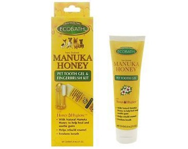 EcoBath Manuka Honey Tooth Gel + Finger Brush
