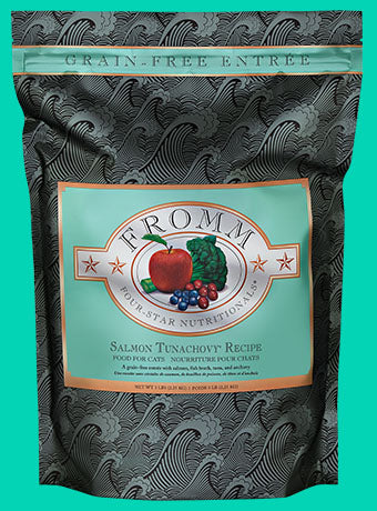 Fromm 4-Star Grain Free Cat Food (Dry) - Salmon Tunachovy