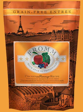 Fromm 4-Star Grain Free Dog Food - Chicken au Frommage