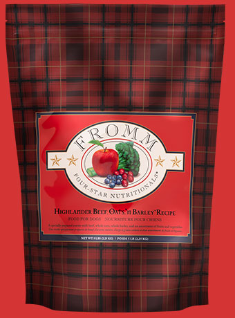 Fromm 4-Star Dog Food - Highlander Beef, Oats n' Barley