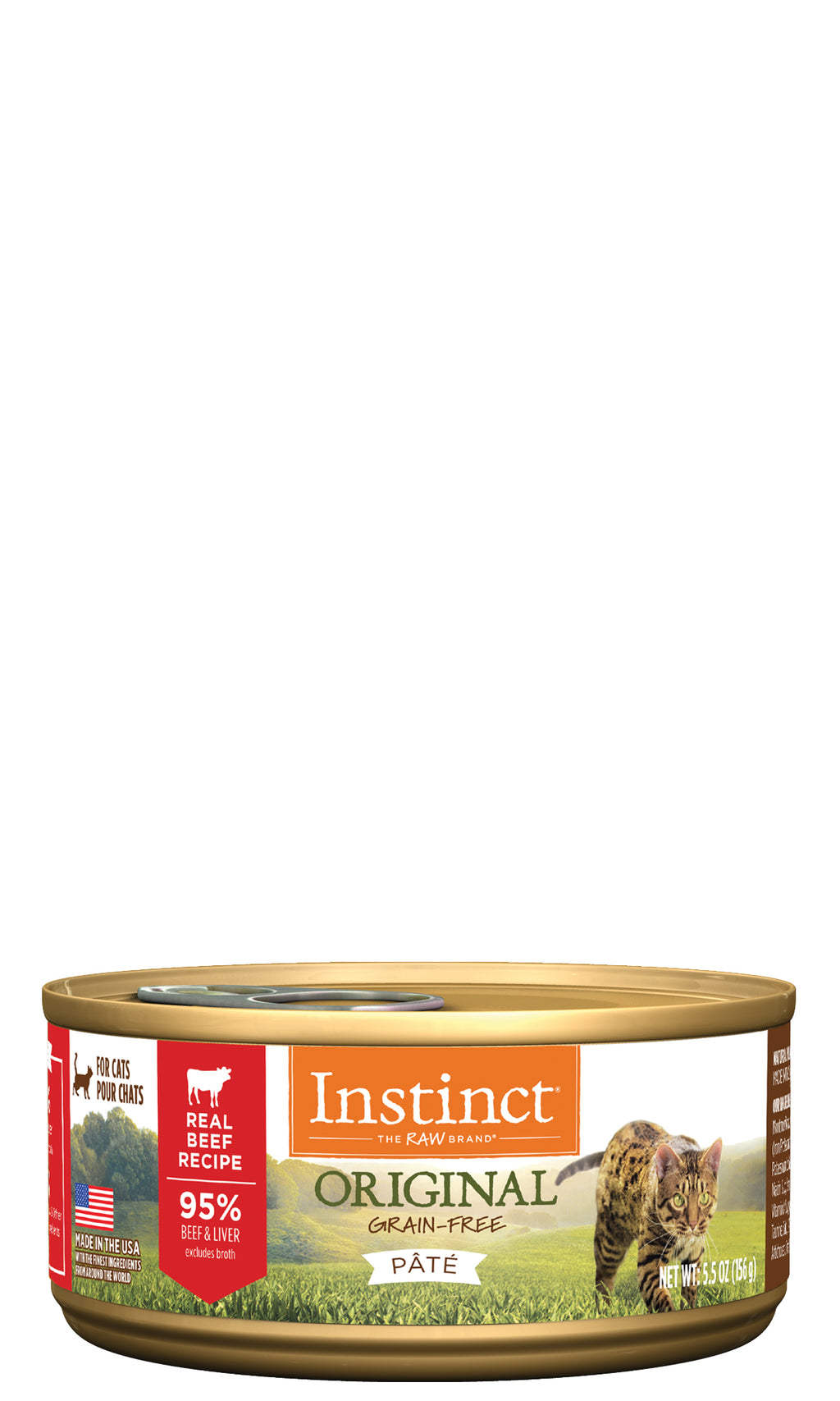 Instinct Original Canned Cat Food - Beef