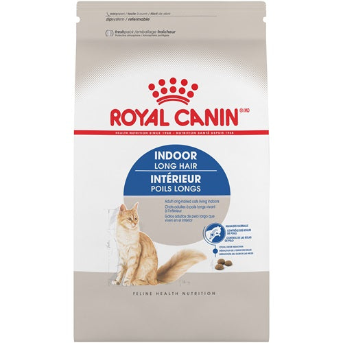 Royal Canin Cat Food (Dry) - Indoor Long Hair