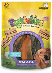 Indigenous Pet Products Pegetables Dental Chews for Small Dogs - Pea, Carrot and Sweet Potato