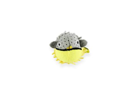 BeOneBreed Fugu Fish Rattle Cat Toy