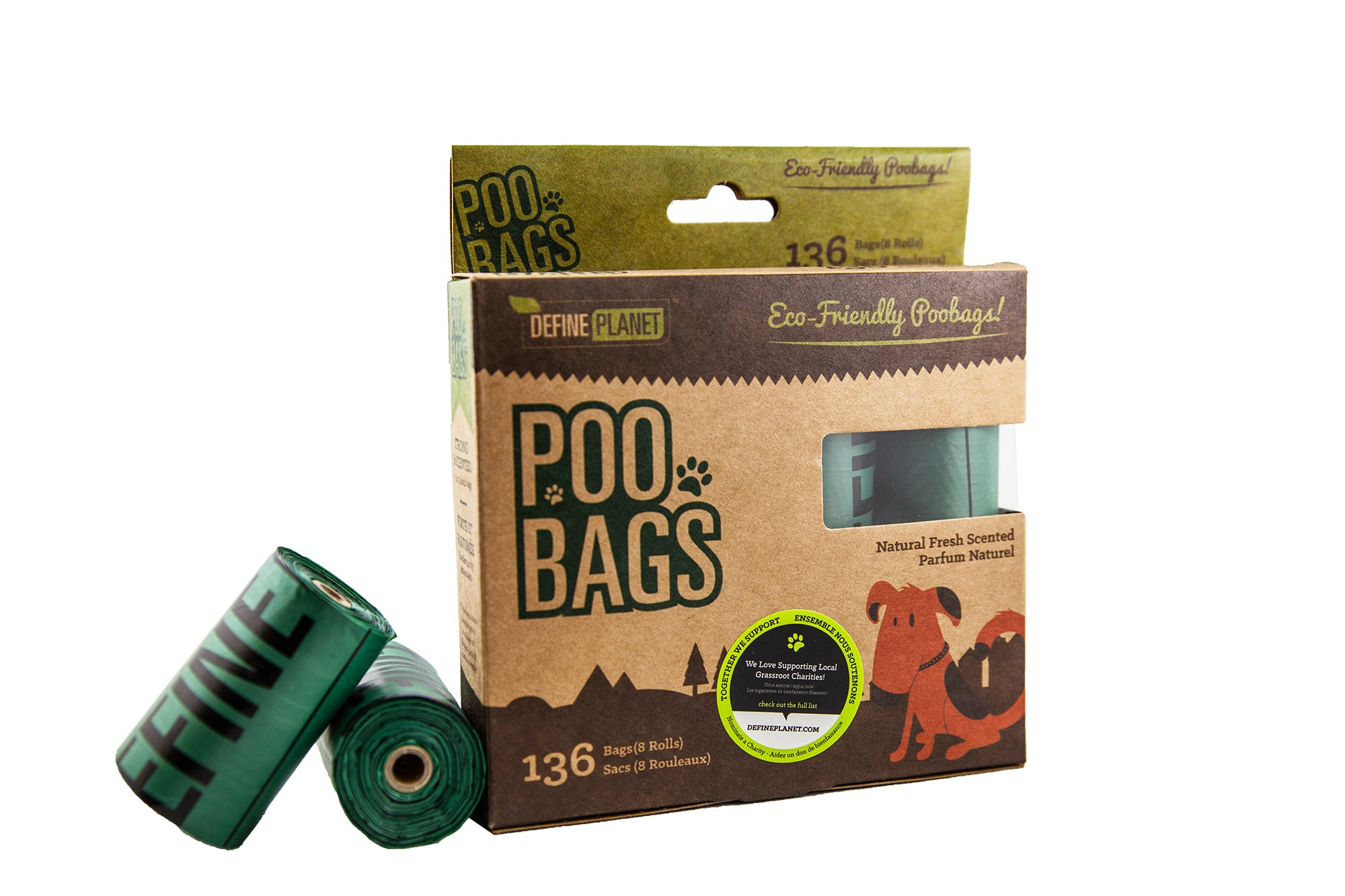 Define Planet Poo Bag Refill Rolls