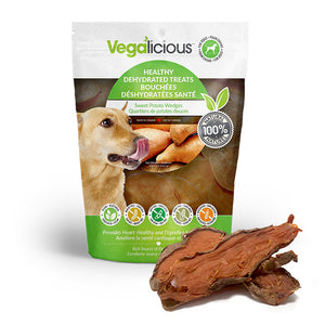 Vegalicious Healthy Dehydrated Treats - Sweet Potato Wedges