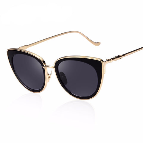 Metal Cat Eye Sunglasses - ResedaGear