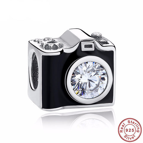 925 Sterling Silver Camera Charm - ResedaGear