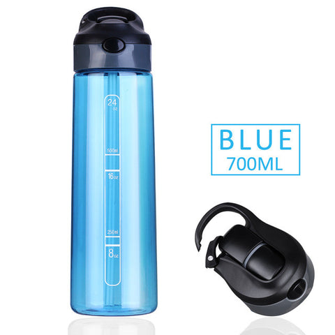 700ML Straw Water Bottle - ResedaGear