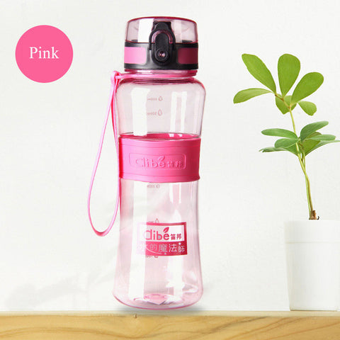 Water Bottle With Spray Nozzle - ResedaGear