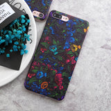 3D Flower Silicone Case For iPhone 5/ 5S/  SE/ 6/ 6S/ 6Plus/ 7/ 7Plus - ResedaGear