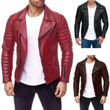 ANTI-FAN LEATHER SPORTS STRIPED JACKET - MEN'S WEAR Store