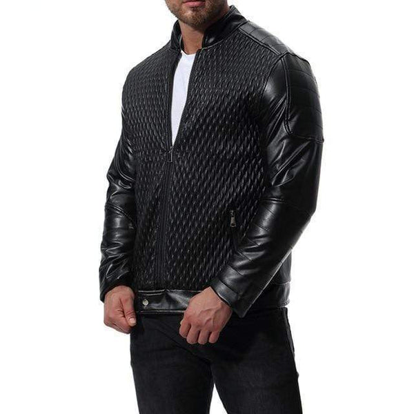 BEAUTIFUL CASUAL LEATHER JACKET - MEN'S WEAR Store
