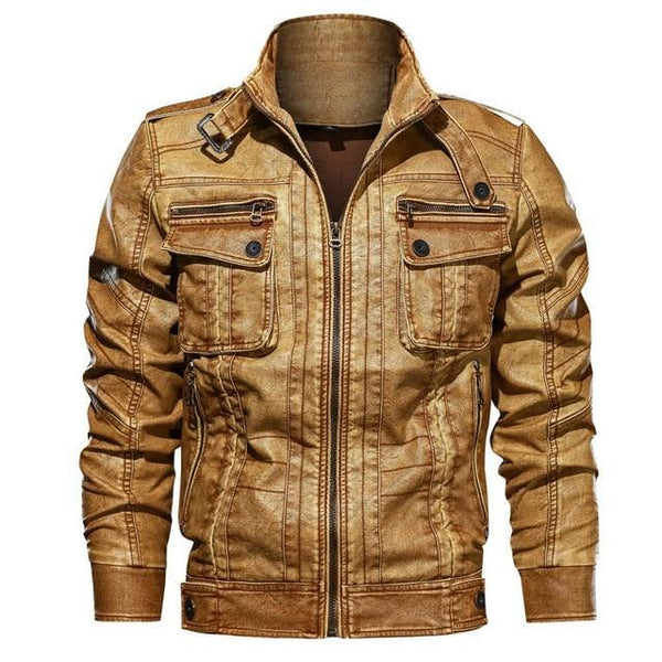 CONTEMPORARY CASUAL MOTORCYCLE LEATHER JACKETS - MEN'S WEAR Store