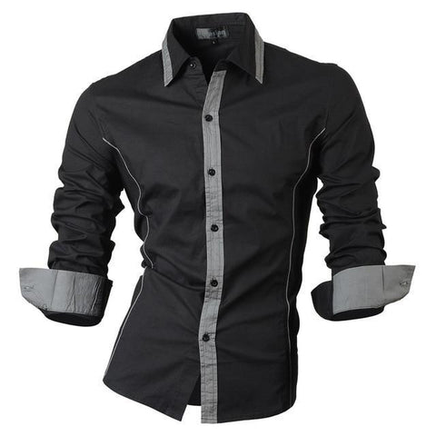 CONTEMPORARY CASUAL SOLID COLOR SHIRTS - MEN'S WEAR Store