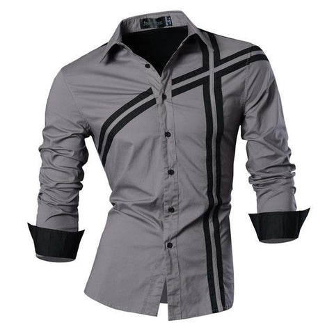FASHION CASUAL SLIM FIT SHIRTS - MEN'S WEAR Store