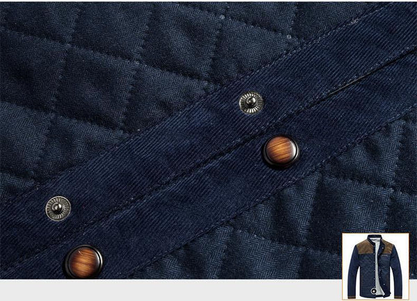 FASHION SLIM FITTED CORDUROY JACKETS - MEN'S WEAR Store