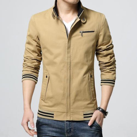 FASHION WASHED COTTON JACKET - MEN'S WEAR Store