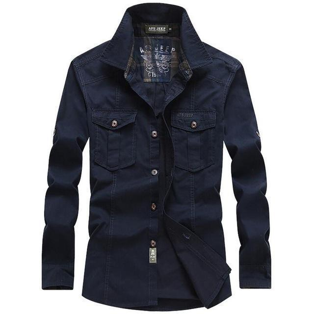 INDUSTRIAL LOCAL DENIM SHIRT - MEN'S WEAR Store