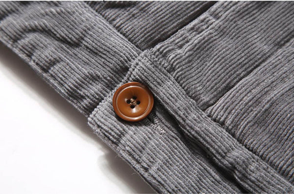WARM CORDUROY CASUAL JACKETS - MEN'S WEAR Store