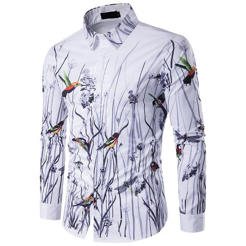 CLUB LUXURY LONG SLEEVE SHIRTS - MEN'S WEAR Store