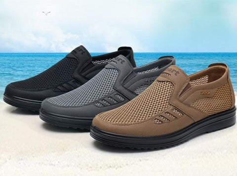 FASHION SUMMER LIGHTWEIGHT BREATHABLE SLIP-ON FLATS - MEN'S WEAR Store