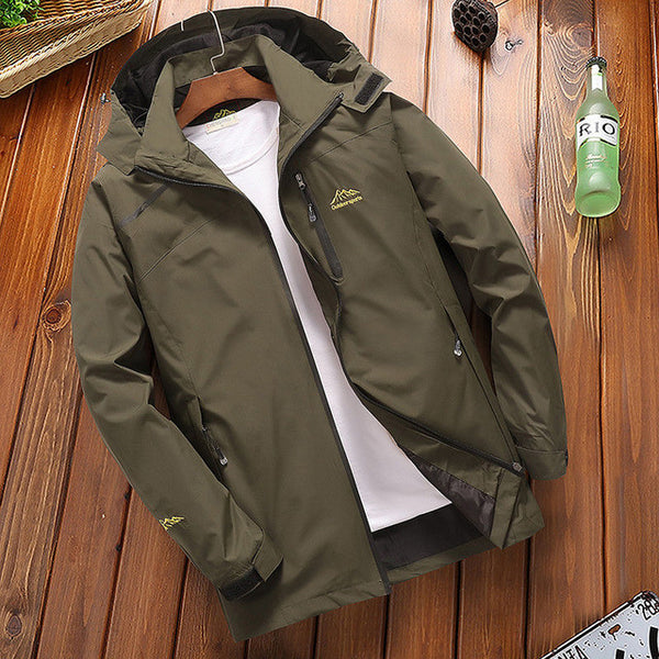 CASUAL WATERPROOF TOURISM WINDBREAKER BOMBER JACKET - MEN'S WEAR Store