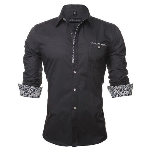 PLAIN BUSINESS CASUAL SLIM FIT SHIRT - MEN'S WEAR Store