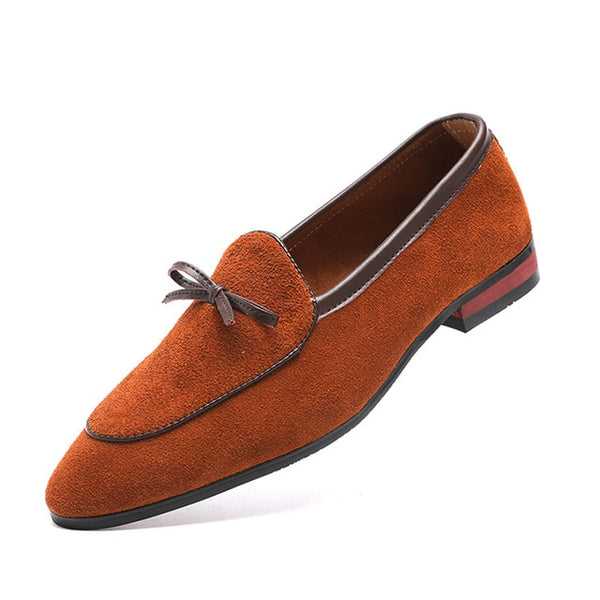 FASHION BOW CASUAL LOAFERS - MEN'S WEAR Store