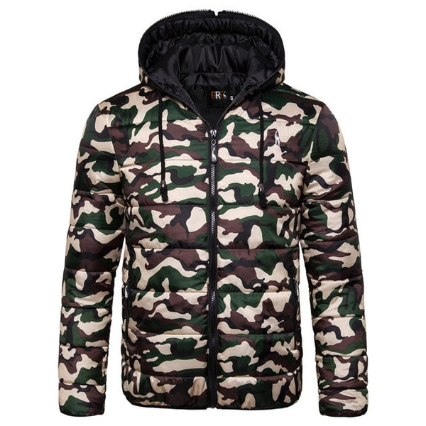 FASHION HOODED WATERPROOF PARKA - MEN'S WEAR Store