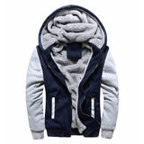 WINTER WARM THICK VELVET HOODED SWEATSHIRTS WITH ZIPPER - MEN'S WEAR Store