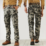 CASUAL CAMOUFLAGE MILITARY PANTS