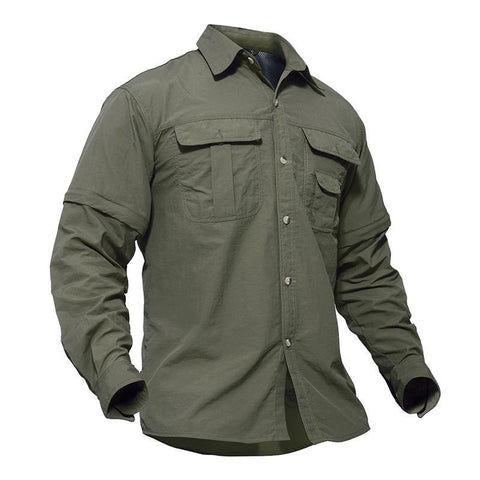 QUICK DRY TACTICAL SHIRT - MEN'S WEAR Store