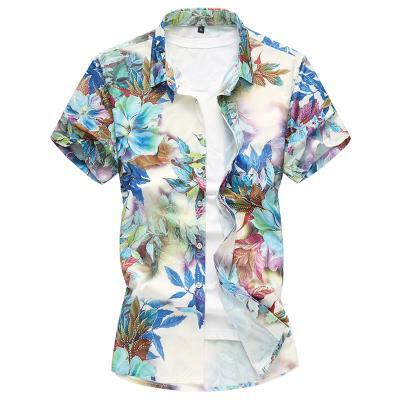 SUMMER FASHION FLORAL PRINT SHIRT - MEN'S WEAR Store