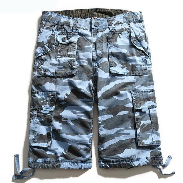 SUMMER QUALITY MILITARY SHORTS - MEN'S WEAR Store