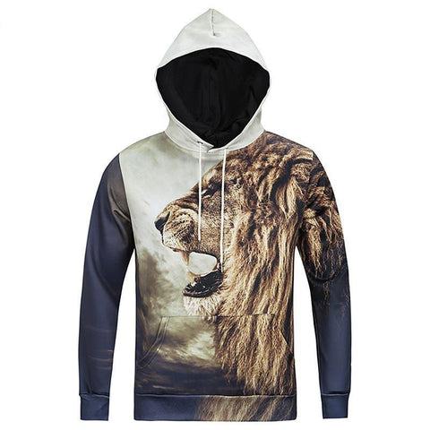 Sweatshirt With 3D Print - MEN'S WEAR Store